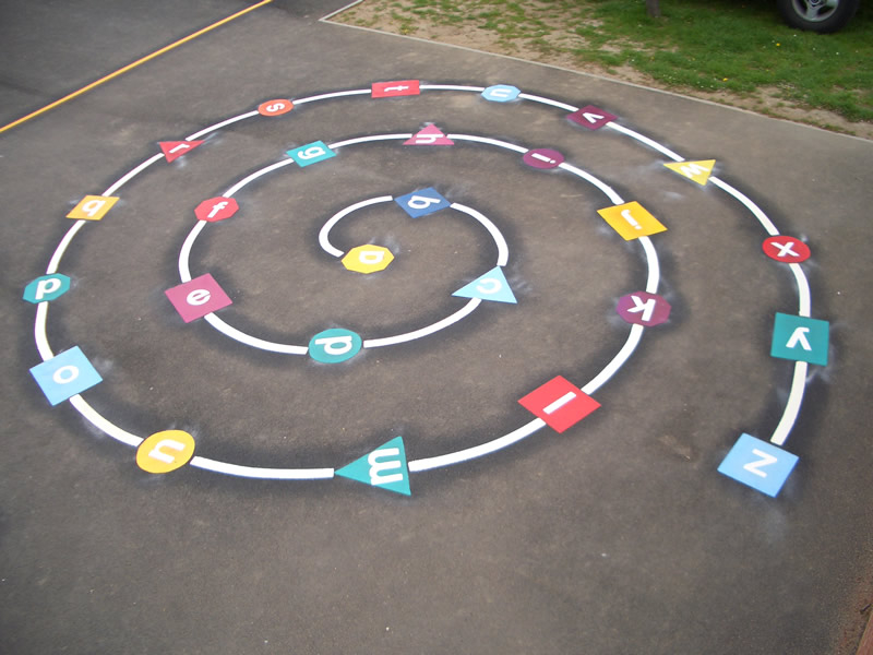 playground markings in bournemouth