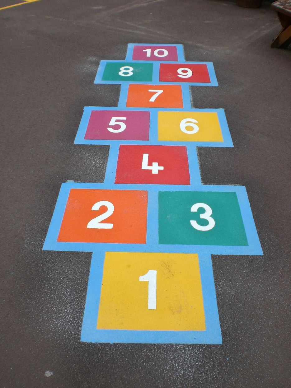 Hopscotch Playground Markings Iq Playgrounds