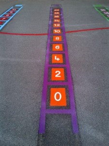 2 times tables ladders