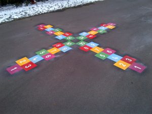 4 Way Hopscotch - Roebuck Primary School
