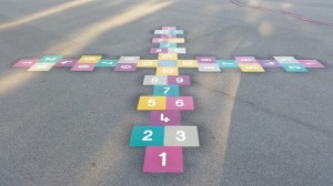 4 Way Hopscotch