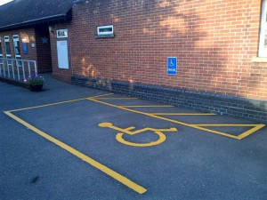 Bloomfield -Disabled Bay