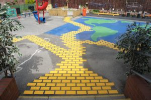 Cherry Grove Yellow Brick road