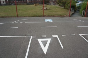 Donnington Wood - Road Track Playground Markings 3