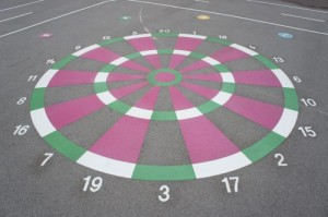 Kings Norton Primary School dartboard