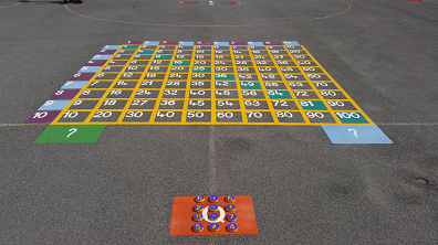 playground markings in peterborough
