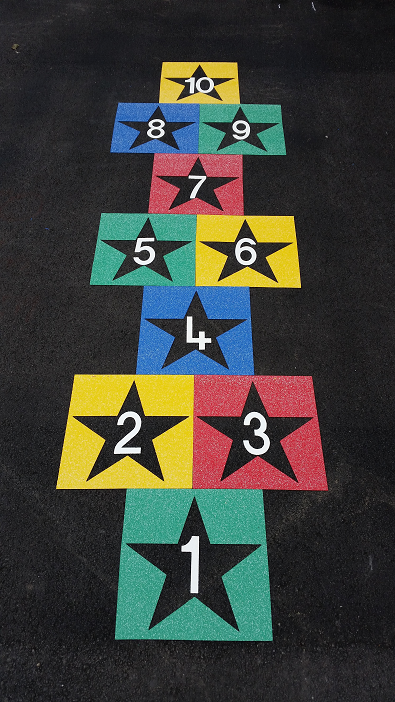derby playground markings