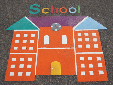 school design in bradford playground