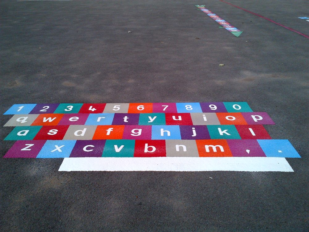 bristol playground markings