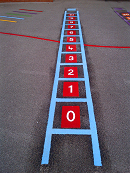 thermoplastic playground markings cardiff