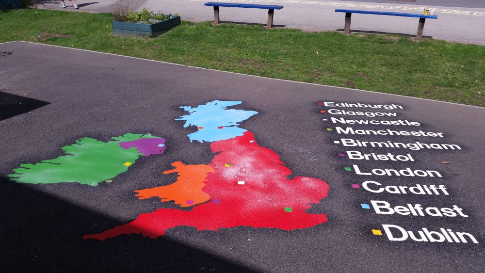 uk map markings