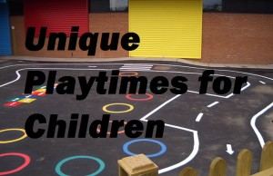 UK Thermoplastic Playground Markings for Schools