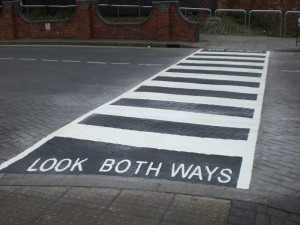 SAFE: Learn road safety with playground markings