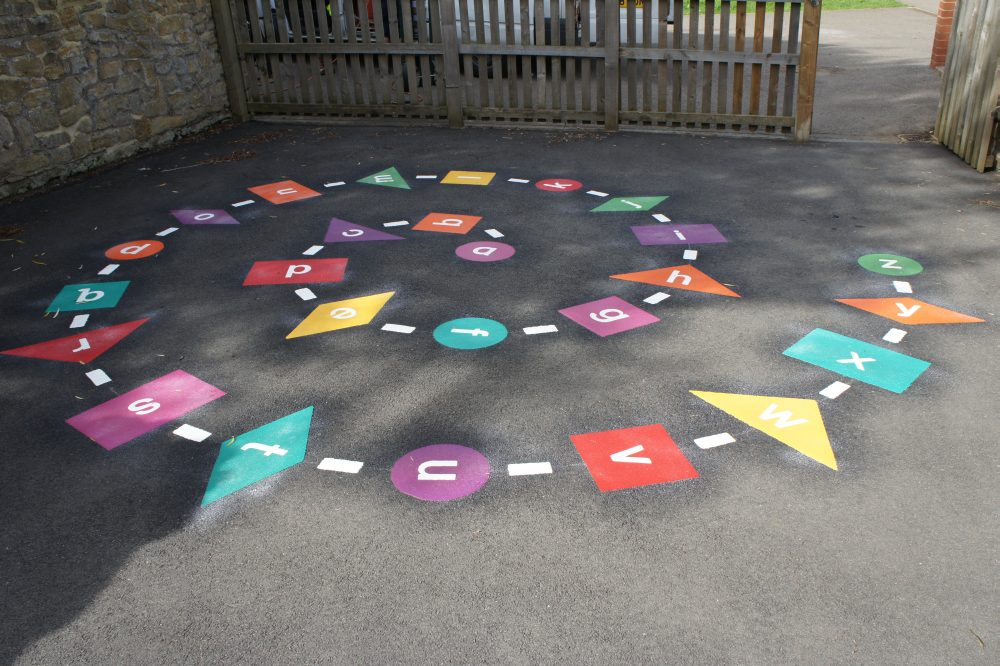sunderland playground markings
