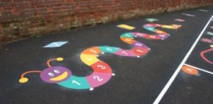 """animal playground markings london"""