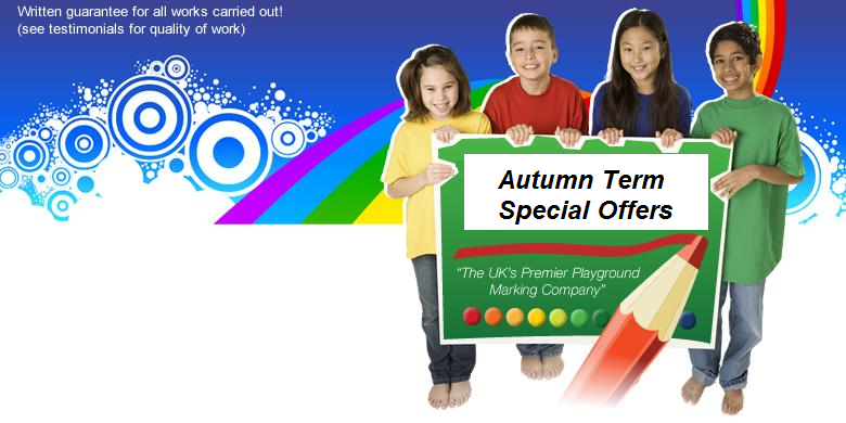 Autumn Playground Markings Special Offers