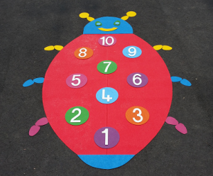 educational playground markings