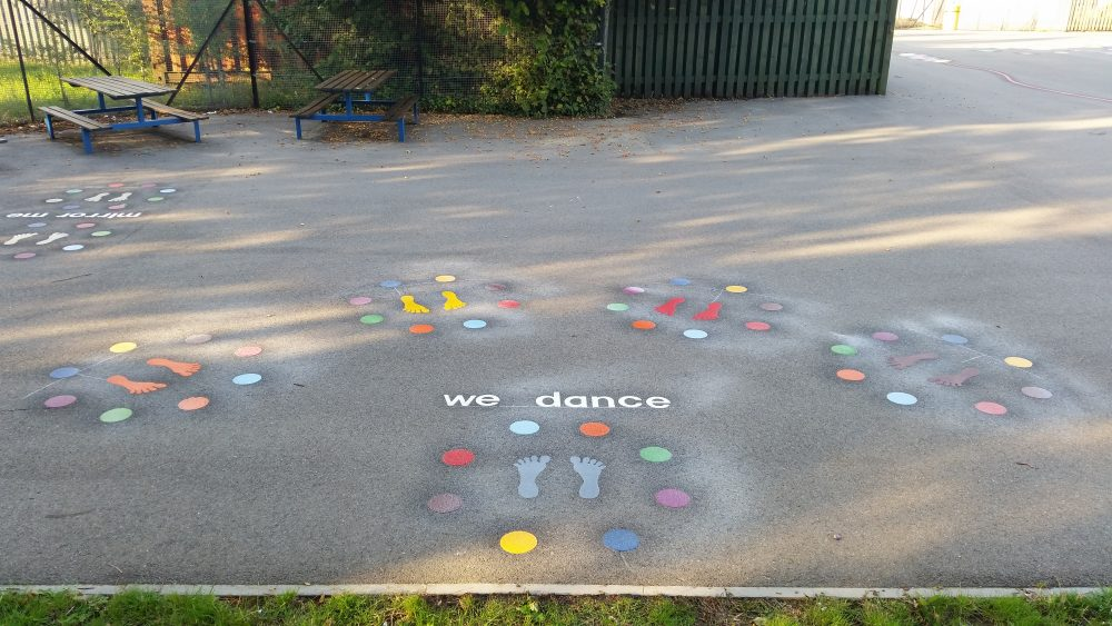 """birmingham markings for the  playground"""